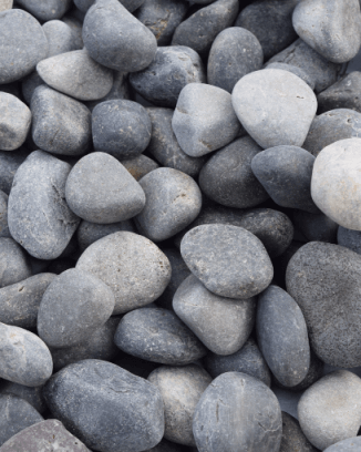 Mexican Beach Landscaping Pebble - 37 lbs.