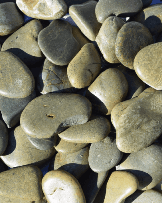 Green Polished Landscaping Pebble - 50 lbs.