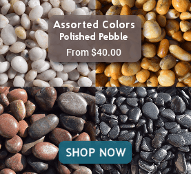 Assorted Colors Polished Pebble from $40.00